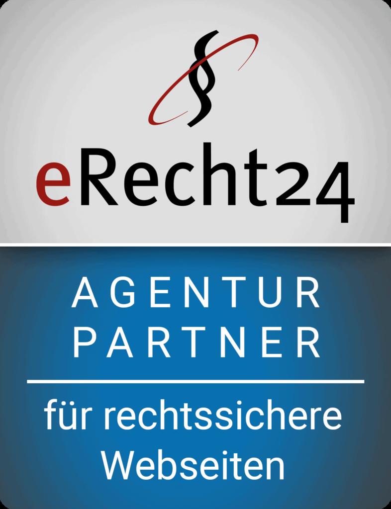 eRecht24 Werbeagentur Partner für Webseiten und Webdesign